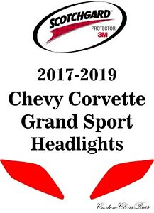 3M Scotchgard Paint Film Pro Series 2015 2016 2017 2018 2019 Chevy Corvette Z06