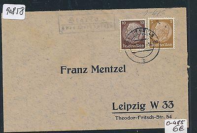 Dr > Ddr Landpost Ra2 Starkau über Weißenfels,brief 1940 Briefmarken Heimatgeschichte Hilfreich 90858