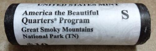 "2014 S Smoky Mountain Tennessee Quarter ROLL U.S Mint /""BU/"" ATB series"