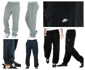 Nike Mens 3D Logo Joggers Tracksuit Fleece Jogging Bottoms Small ... 846df09dc80