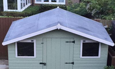 5% off EPDM Flat Rubber Roof Materials & Kits