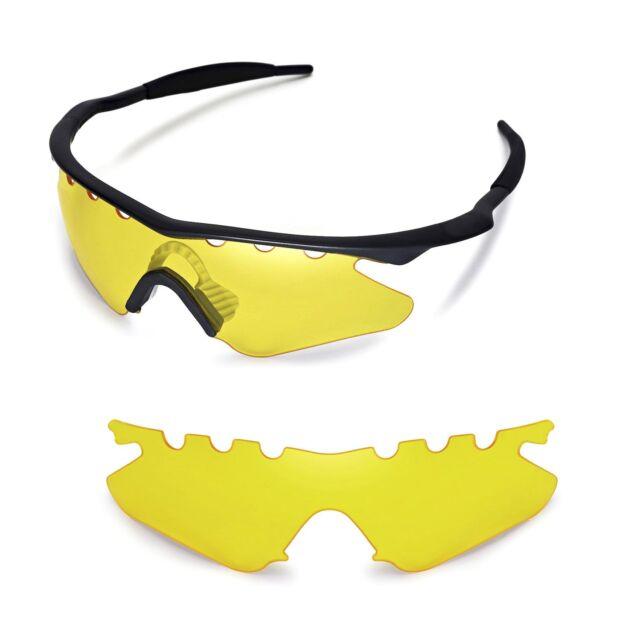 8b58b6eb22 New WL Yellow Vented Lenses For Oakley M Frame Heater Sunglasses