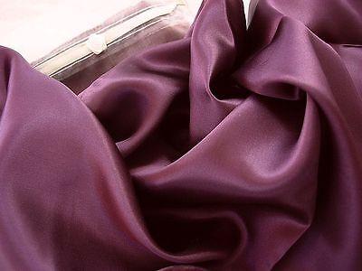 100%  Mulberry Silk charmeuse pillowcase King pillow case Plum Purple