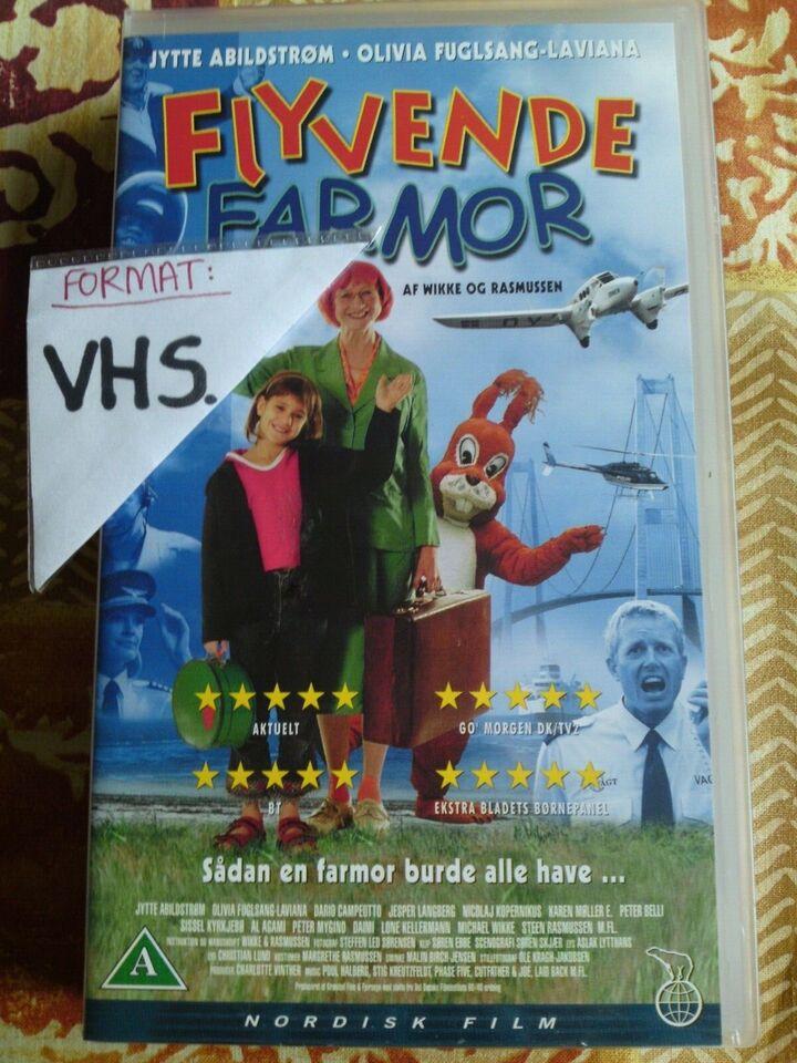 Børnefilm, Flyvende farmor , instruktør Wikke og