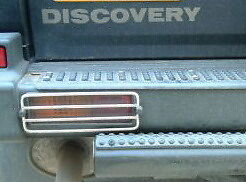 LANDROVER DISCOVERY 1 200 300TDI REAR  LIGHT GUARD PACKAGE  95-98