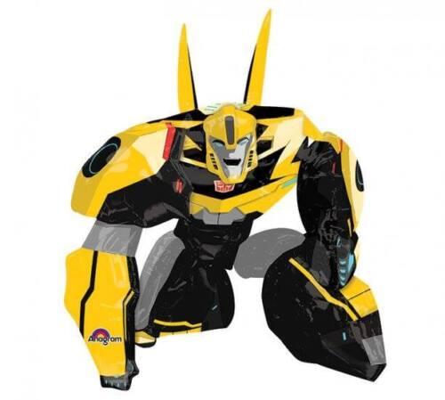 "Transformers Bumble Bee Airwalker 34/"" x 47/"" Tall Birthday Party Jumbo Balloon"