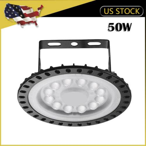 1 x 50W UFO LED High Bay Light Warehouse Fixture Industry Factory Shop Shed Lamp