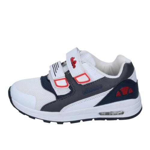 Scarpe bambino ELLESSE 29 EU sneakers bianco tessuto BN656-29