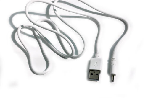 90cm USB White Cable for Motorola MBP34 MBP34PU Parent/'s Unit Baby Monitor