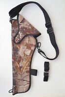 Scoped Shoulder Holster For Cva Optima 50 Cal 14 Barrel