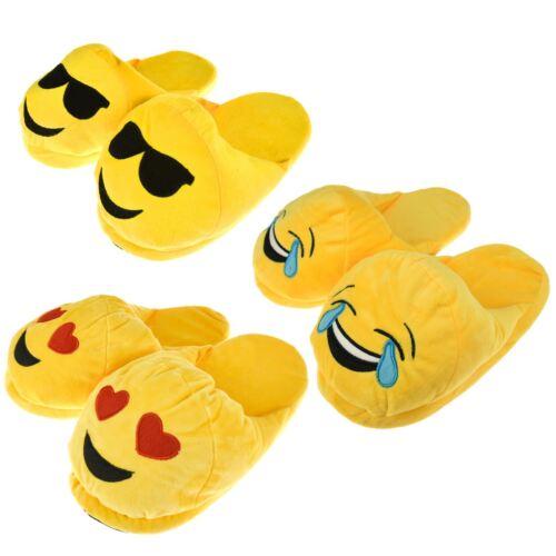 Smiley Visage Wink Amusant Taille Slip Merde Crazy Unique Warm Non Unisexe Nouveauté Slipper Emoji 3d Wink wxnFq