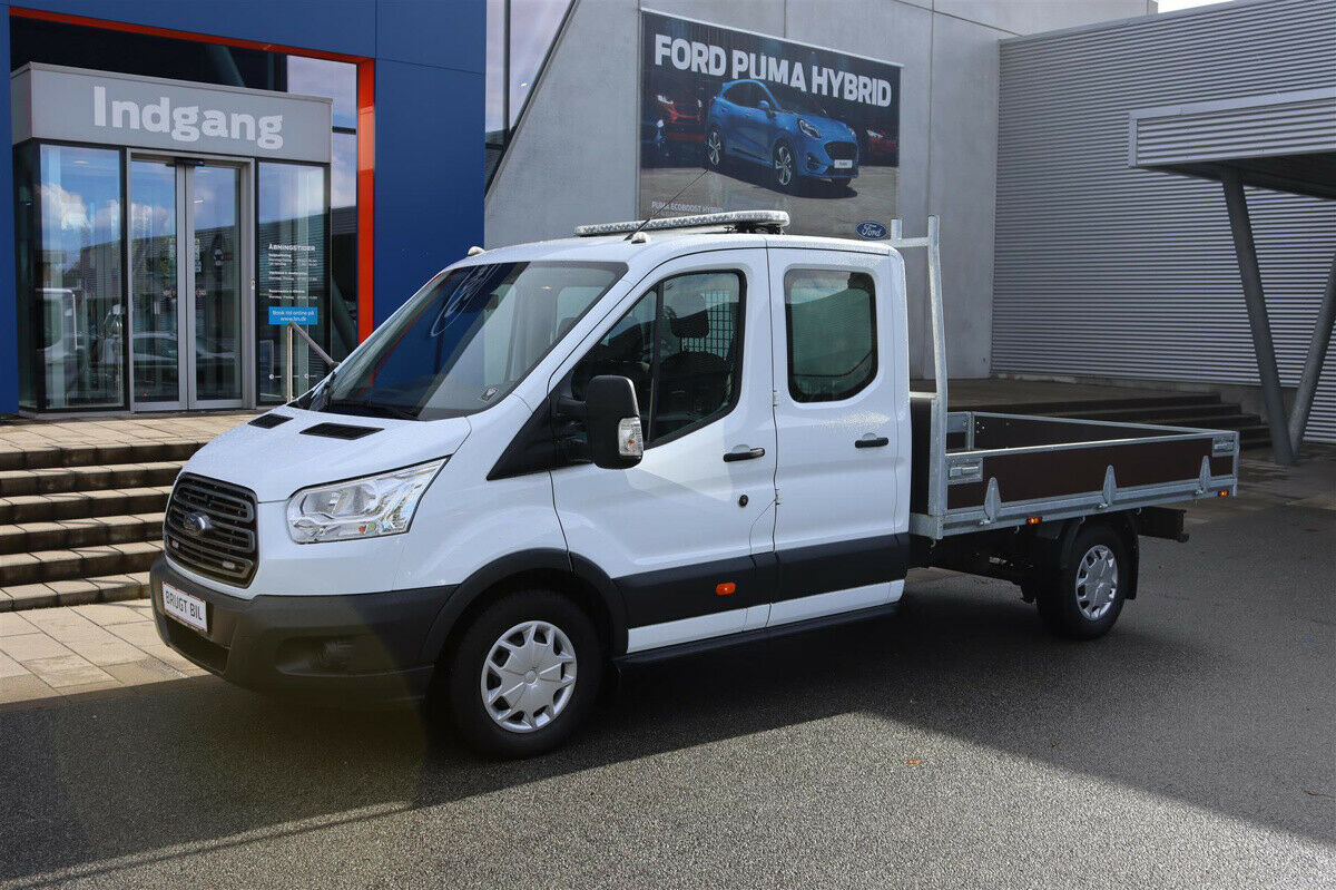 Ford Transit 350 L3 Chassis 2,0 TDCi 170 Db.Kab Trend FWD