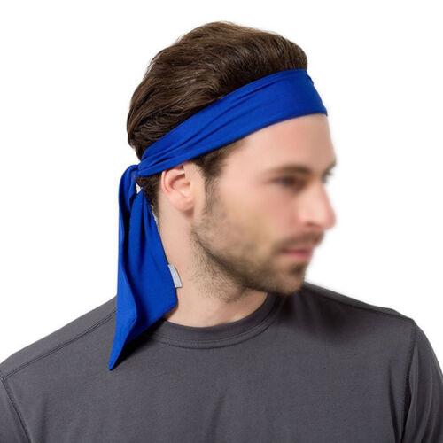 Men Women Head Tie Headband Outdoor Sports Headband Hair Band Headband Sweatband