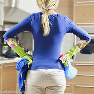 57132-Washing-Up-Rubber-Gloves-Long-Sleeve-Household-Kitchen-Dishes-Cleaning