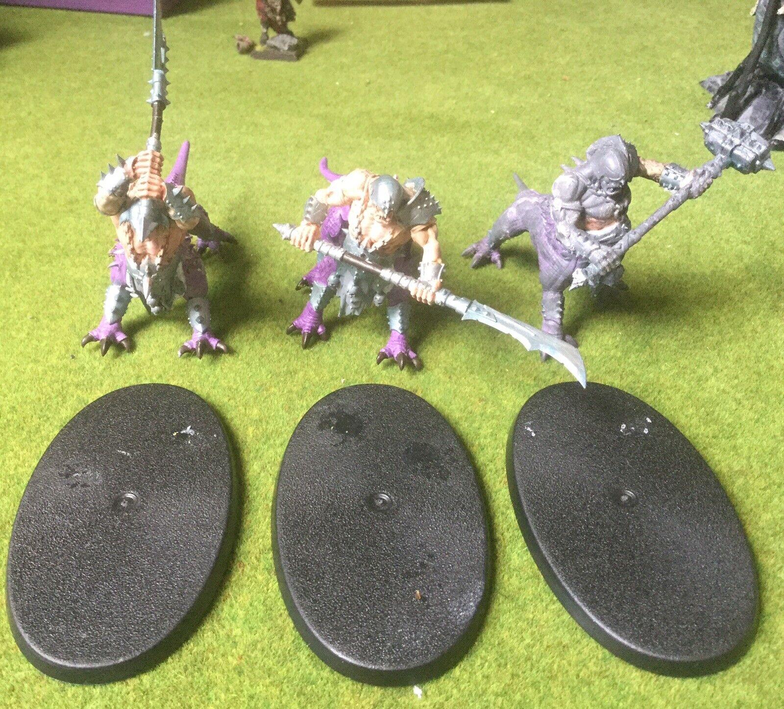 Warhammer-Bestias del Caos - 3x Dragon ogros (ref 1) Exc Con Publica Gratis