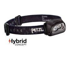One Size Petzl Unisexs Stirnlampe Actik Core Black
