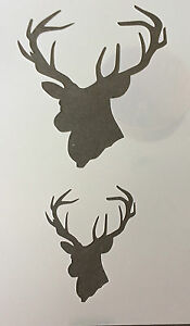 Stag Head Mylar Reusable Stencil Airbrush Painting Art Craft DIY home