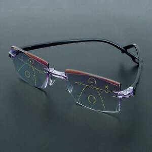 Progressive-Multifocal-Presbyopia-Eyeglasses-Reading-Glasses-Diamond-cut-HOT