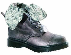 Image is loading Dr-Martens-9-Loch-Aimilie-Pewter-15659651-Original- c4d51f303