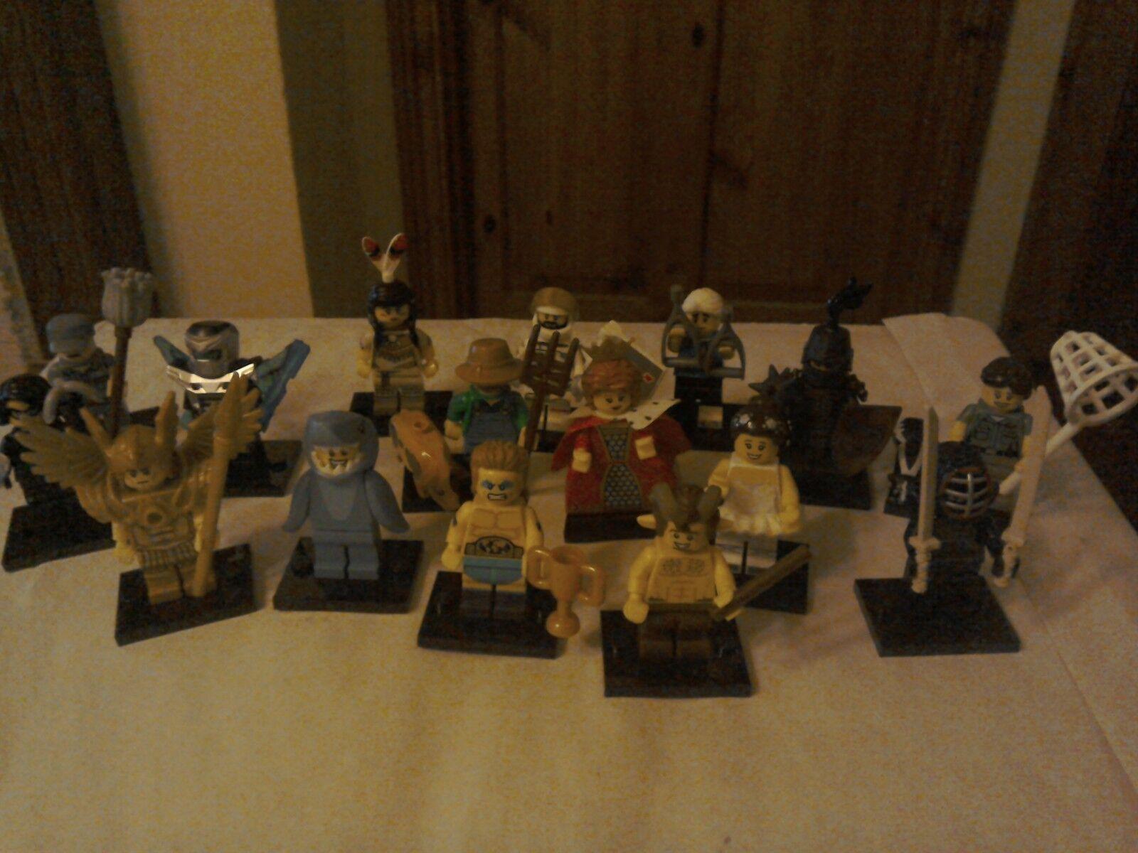 Bonnes vacances, bonne action action action LEGO Minifigures Series 15 Complete Full Set X16 8a0d03
