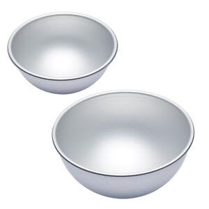Halbkugel Backform Set 15cm 20cm Aus Aluminium Kugel Fussball