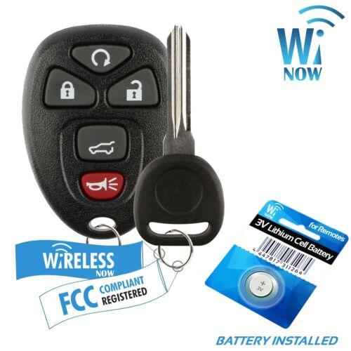 Key Car Fob Keyless Entry Remote 5Btn For 2012 2013 2014 2015 2016 GMC Acadia
