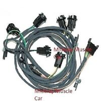 Rear Body Tail Light Wiring Harness 66 Pontiac Gto 1966 Coupe & Post