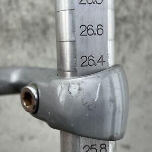 """Sakae FX Stem Vintage 1"""" Quill 120mm Trek Road Bike 26.4 Cinelli Size"""