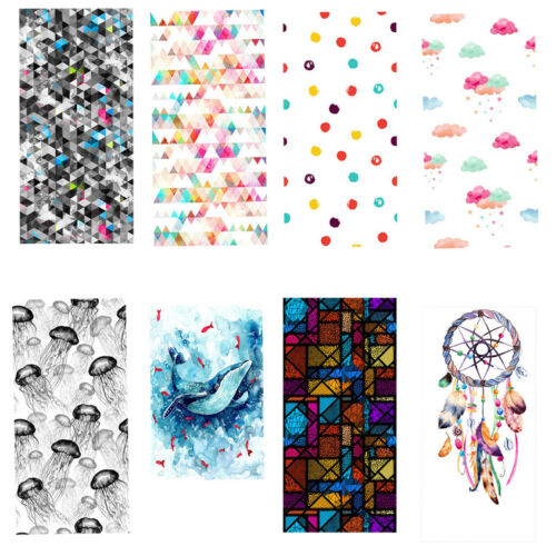Window Film Sticker Static Decorative Privacy Frosted Stained Glass Décor