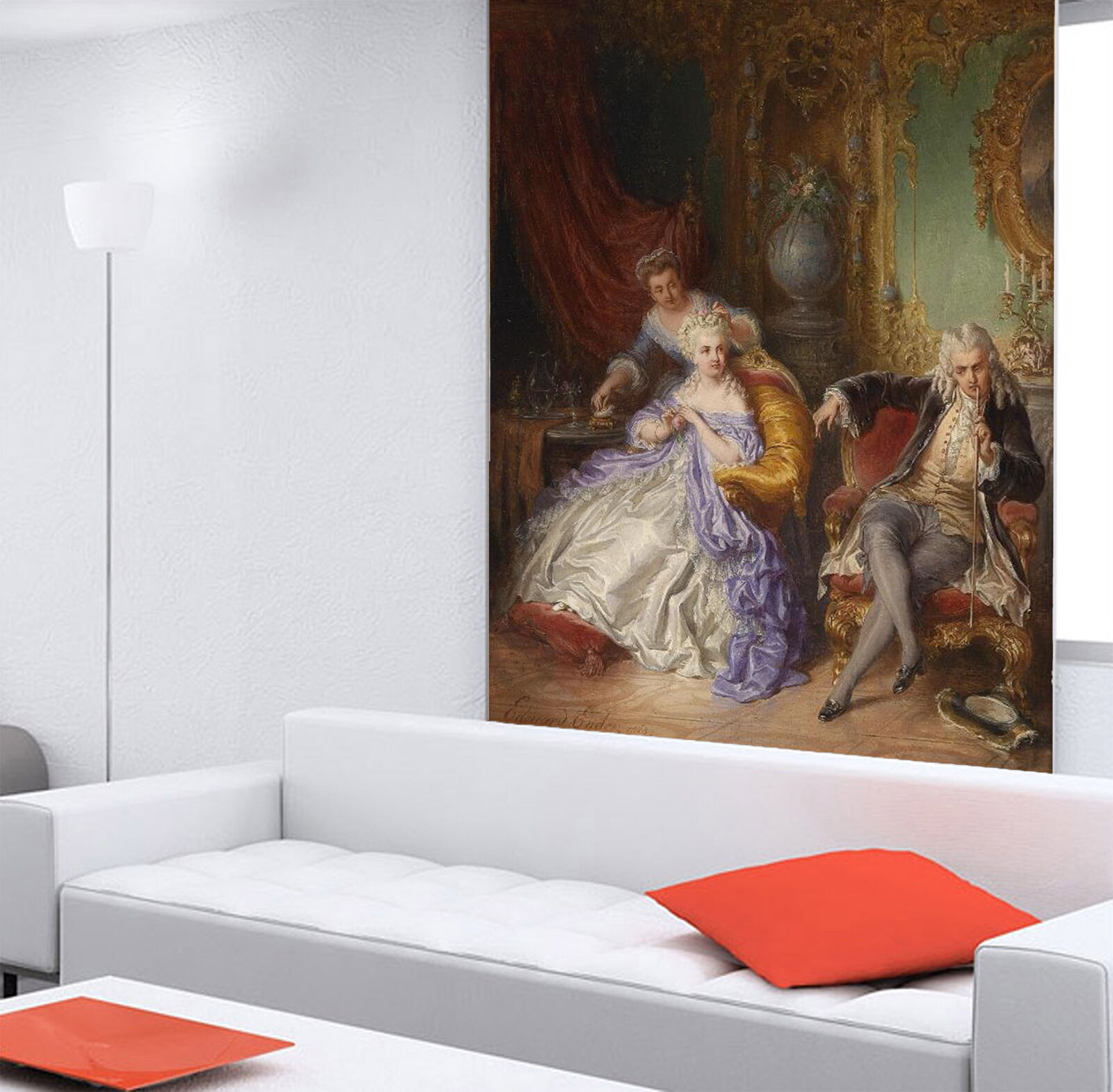 3D Lady And Gentleman 03 Paper Wall Print Wall Decal Wall Deco Indoor Murals