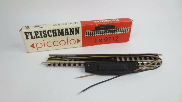Fleischmann piccolo 9112 elektr. Entkupplungsgleis NEU & OVP CH15556