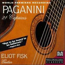 Paganini: 24 Caprices arranged for Guitar; 1992 CD, Eliot Fisk, Capriccio, Music
