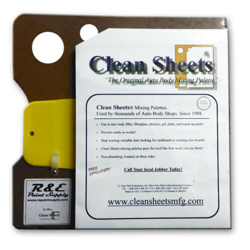 "Clean Sheets CS100 12/"" x 12/"" Disposable Paper Mixing Board"