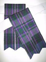 Pride Of Scotland Kilt Hose/sock Flashes For Men - Free Shipping
