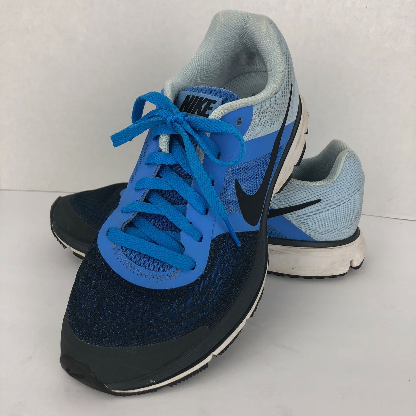 NIKE Pegasus 3D Fitsole Running Sneakers bluee Size 9 M Lace Up 599392-400
