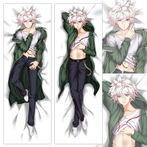 Anime Danganronpa Nagito Komaeda Dakimakura Otake Male Hugging Body Pillow Case