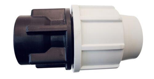 "Raccord Droit Ø16 x 1//2/""FF PLASSON Compression Polyéthylène Arrosage-14FF162100F"