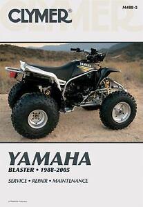 1988 2005 yamaha blaster yfs200 atv repair manual 2000 2001 2002 rh ebay com 2003 Yamaha Blaster 1998 Yamaha Blaster