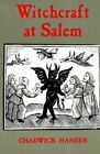 Witchcraft at Salem by Chadwick Hansen (Paperback, 1985)