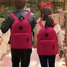 Everyday Deal Couple Trendy Bag Lovers Travel School Backpack 167 (Fuchsia Pink)