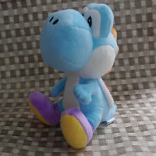 "Super Mario Bros. series plush YOSHI Blue 7"" stuffed toy doll"