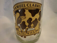 Dairy Milk Bottle COW Clark's saying on back Vintage-look Made in England MC NEW