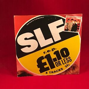 STIFF-LITTLE-FINGERS-1-10-Or-Less-1982-UK-7-034-Vinyl-Single-EXCELLENT-COND-listen