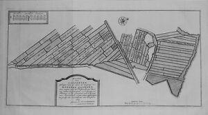 Antique-map-Kaart-der-Landeryen-gelegen-aan-of-onder-Honderd-Gaarden