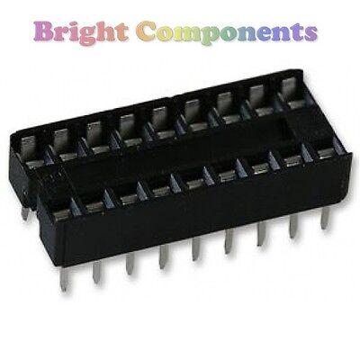 1st Class Post 20 X Nuevo 14 Pin Dil Dip Ic Socket