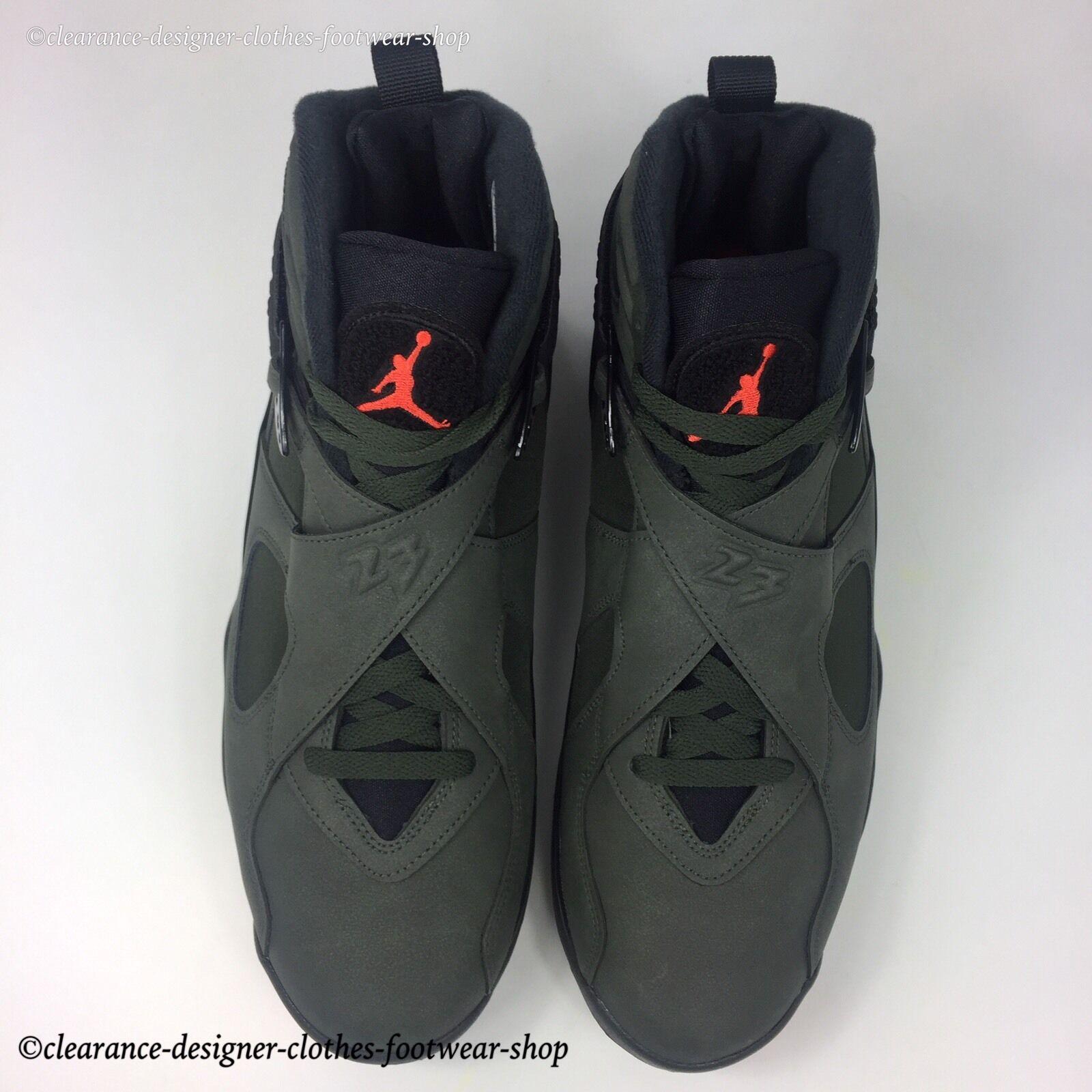 Nike Air Jordan 8 Retro Baskets invaincu Garniture Take 10 Flight Chaussures UK 10 Take 4e0c66