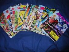 Gordon n°1-9 e 11-16 con due copie del n°7 Fratelli Spada con Poster
