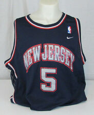 NBA New Jersey Jason Kidd #5 Nike Jersey Men's XXL Length +2