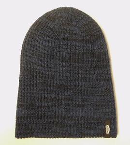 fe64259347 Vans Off The Wall Mismoedig Beanie Blue Black Marled Hat 100 ...