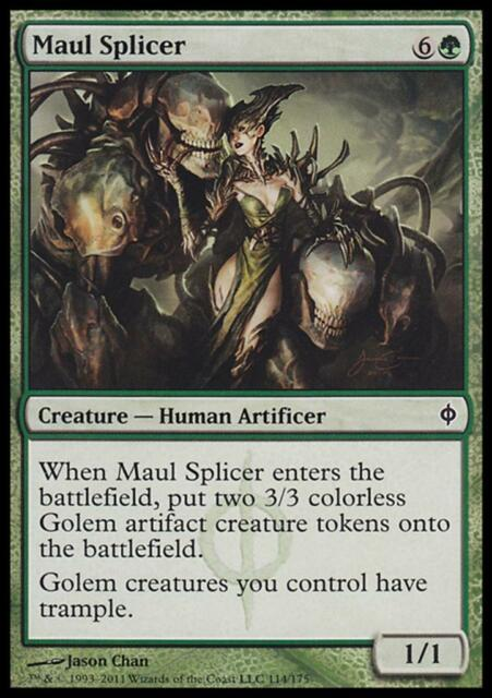 MTG Magic - (C) New Phyrexia - Maul Splicer - SP